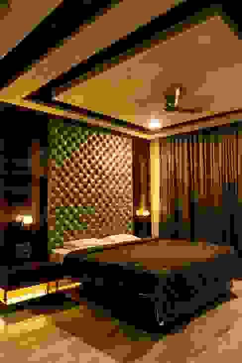 Singh Bunglow - Kalyan Modern style bedroom by Aesthetica Modern