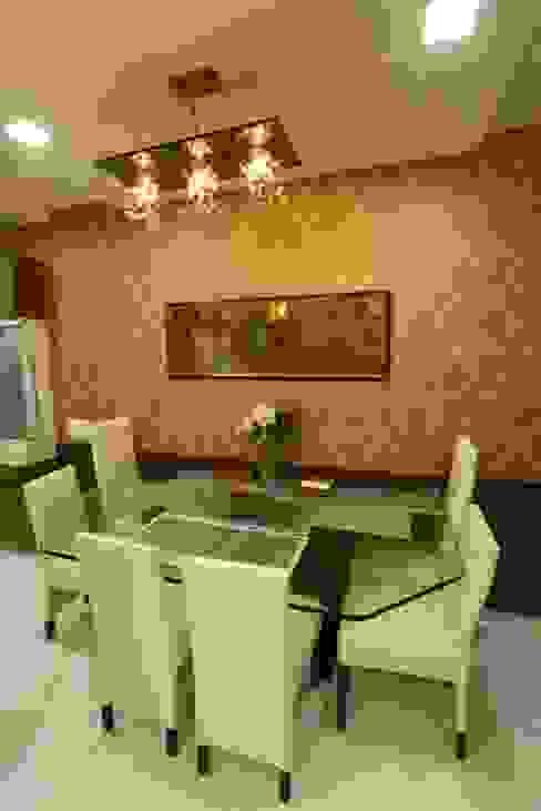 Basant Park - Chembur Modern dining room by Aesthetica Modern