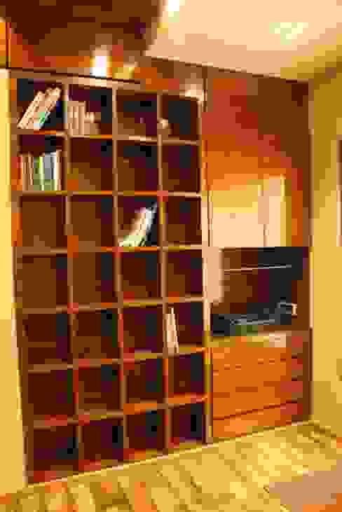 Basant Park - Chembur Modern study/office by Aesthetica Modern
