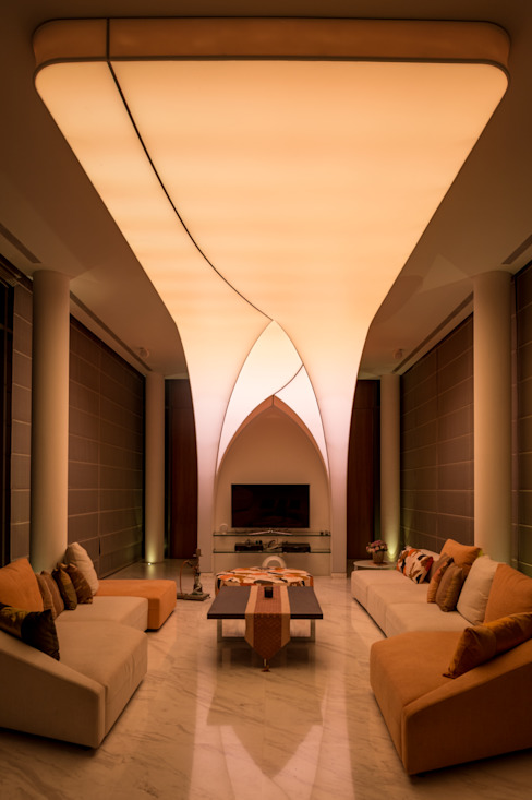 Living Room: Ruang Keluarga oleh E&U, Asia