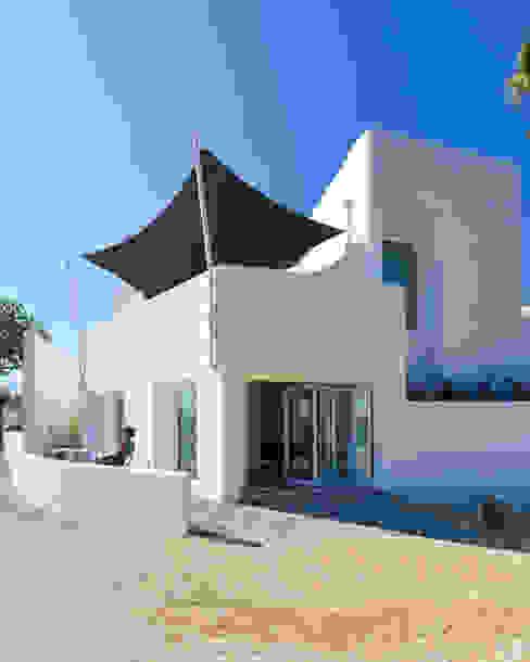 dacruzphoto Modern Houses Concrete White