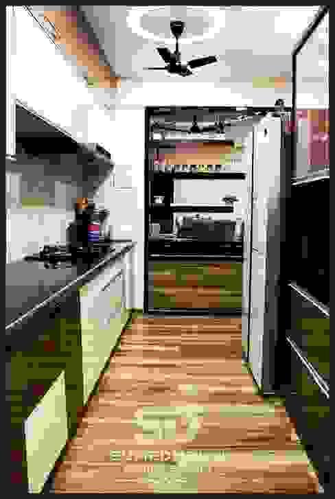 Open Kitchen Concept SUMEDHRUVI DESIGN STUDIO Modern kitchen