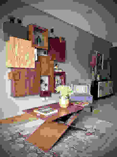 Erika Winters Design Modern Corridor, Hallway and Staircase