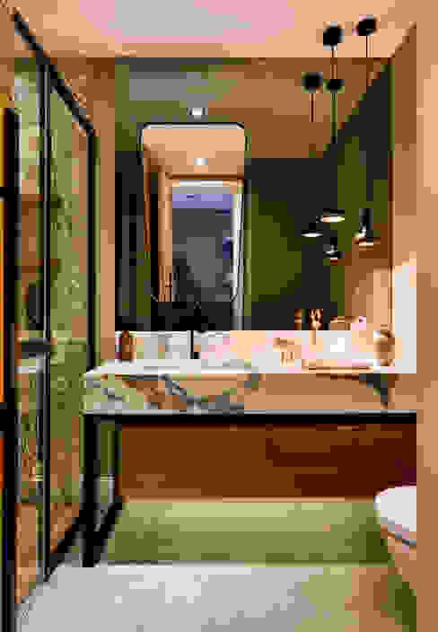 Baños de estilo  por Esra Kazmirci Mimarlik, Moderno