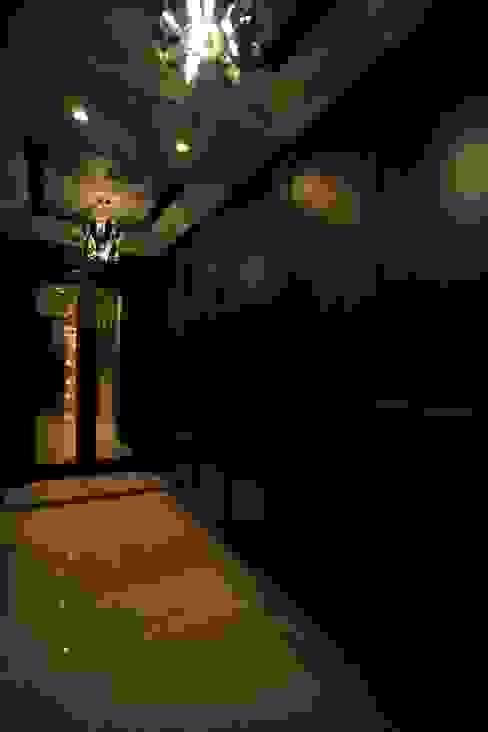 오산 세교 호반베르디움 38py 화이트랩 디자인 모던스타일 복도, 현관 & 계단