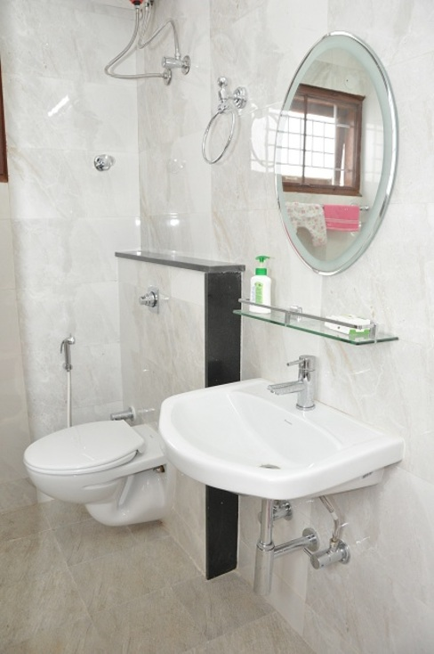 Bathroom designs Asian style bathroom by homify Asian Plastic