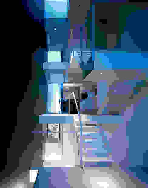 昭和町の家 / House in Showacho モダンスタイルの 玄関&廊下&階段 の 藤原・室 建築設計事務所 モダン