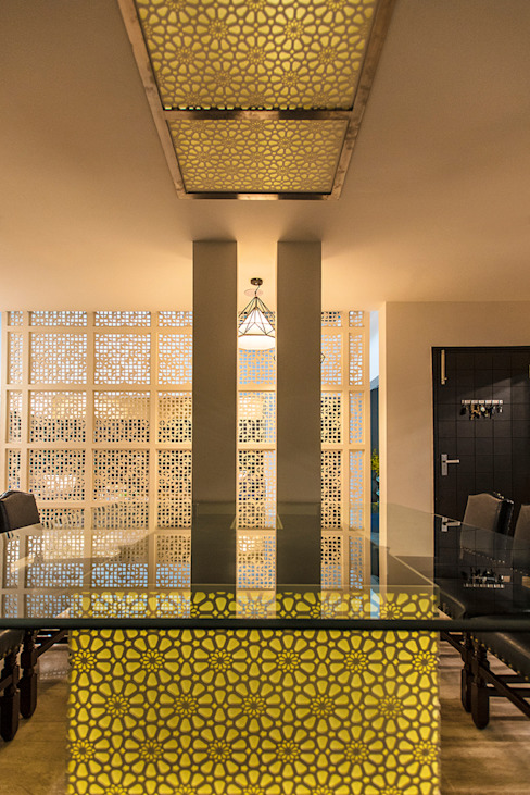 Dining Area Modern dining room by Studio An-V-Thot Architects Pvt. Ltd. Modern