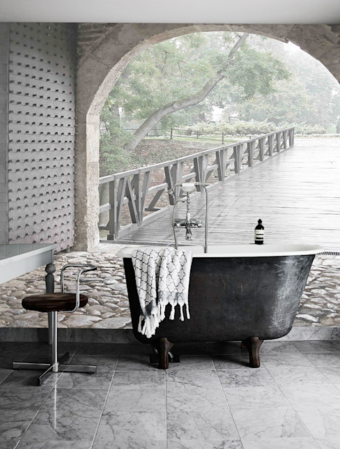 Creativespace Sartoria Murale BathroomDecoration