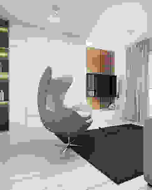 FOORMA Pracownia Architektury Wnętrz Salas multimedia de estilo moderno
