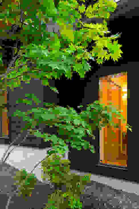 一級建築士事務所 アトリエ カムイ บ้านและที่อยู่อาศัย ไม้ Black
