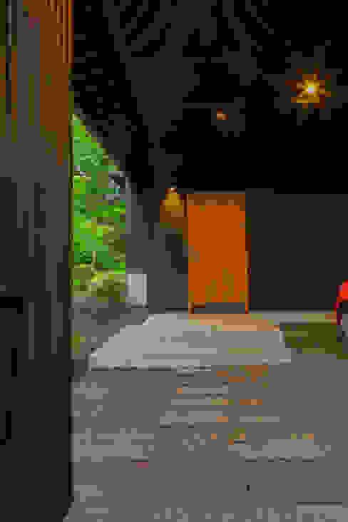軽井沢 モリキズナの家/新築住宅 日本家屋・アジアの家 の 一級建築士事務所 アトリエ カムイ 和風 木 木目調