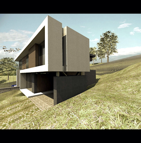 Modern houses by Elite Arquitectura y Asoc. SAS. Modern Iron/Steel