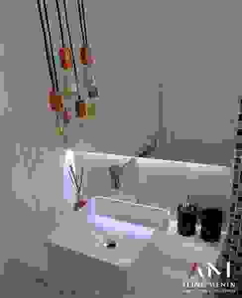 Aline Menin Arquitetura 衛浴鏡子