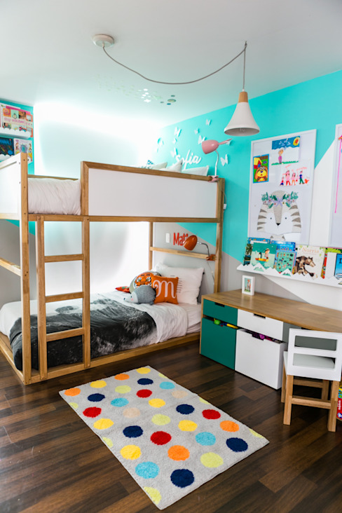 Modern nursery/kids room by Little One Modern