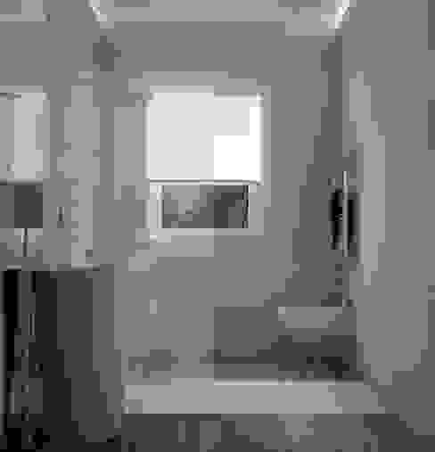 現代浴室設計點子、靈感&圖片 根據 Silvana Barbato 現代風