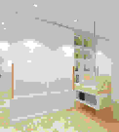Studio Apartment - Art Deco Ruang Ganti Minimalis Oleh iugo design Minimalis