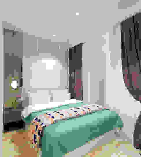 Studio Apartment - Art Deco Kamar Tidur Minimalis Oleh iugo design Minimalis