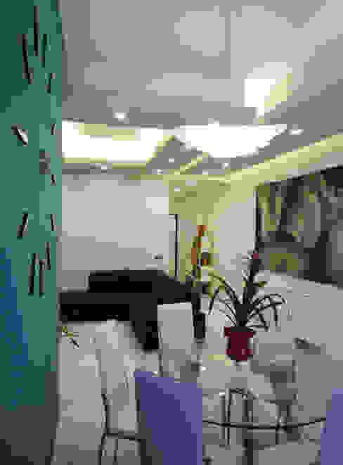 Appartamento Daniele ed Angela Soggiorno moderno di Studio di Progettazione e Design 'ARCHITÈ' Moderno