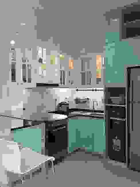 Kitchen Vaastu Arsitektur Studio Dapur Modern