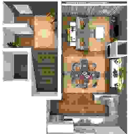 Sala Comum:   por ANA LEITE - INTERIOR DESIGN STUDIO,