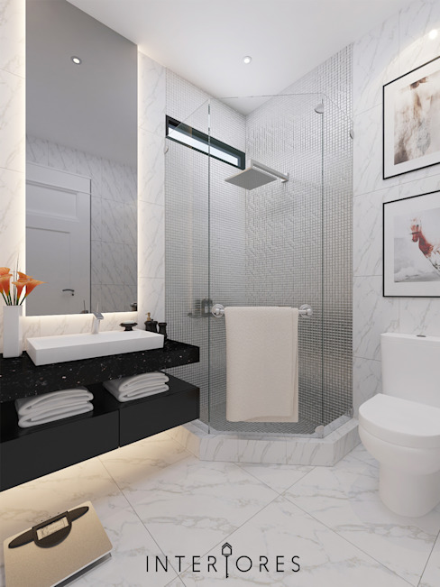 de estilo  por INTERIORES - Interior Consultant & Build,