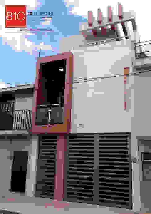 Casas de estilo  por 810 Arquitectos,
