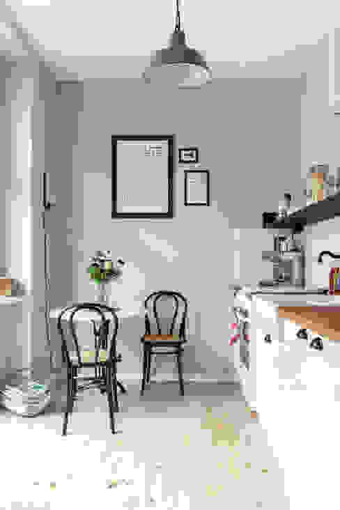 Kathy Kunz Interiors 北欧デザインの キッチン