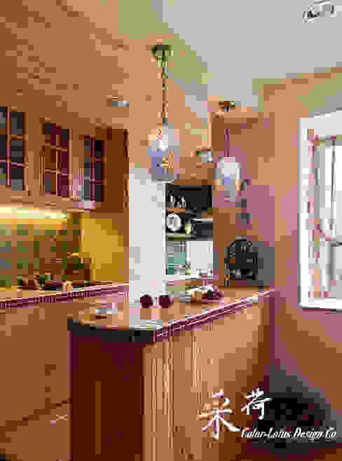 雙溪山居-鄉村風格 根據 采荷設計(Color-Lotus Design) 鄉村風 磁磚