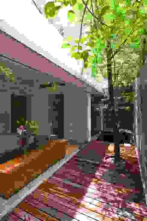M11 House Vườn phong cách hiện đại bởi a21studĩo Hiện đại