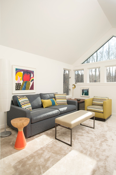 Dutchess County Residence, Amenia, NY Modern Study Room and Home Office by BILLINKOFF ARCHITECTURE PLLC Modern