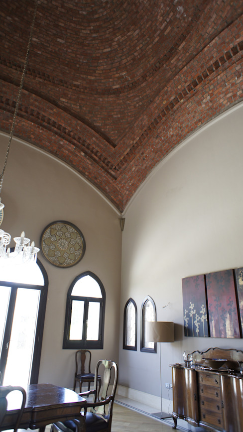 Dining room by Design Zone, Mediterranean Bricks