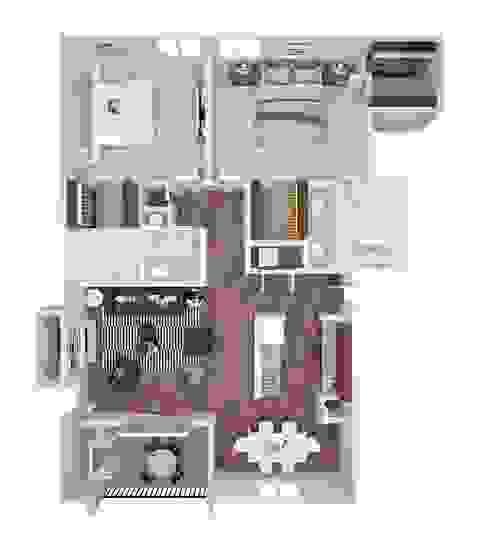 3D Floor Plan Design Services by The 2D3D Floor Plan Company
