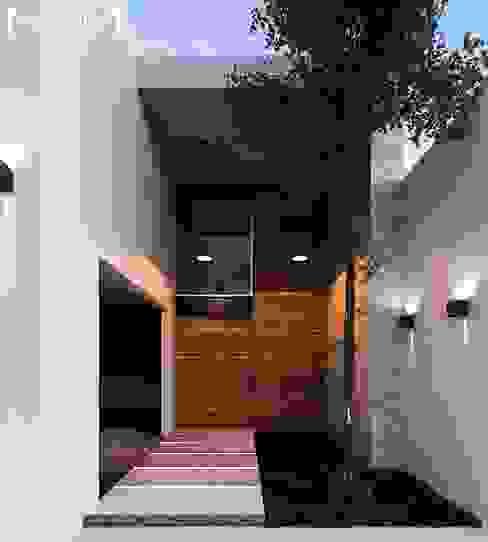 Modulor Arquitectura 獨棟房 水泥 Wood effect