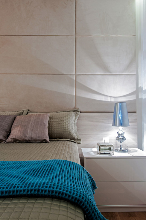 Carolina Kist Arquitetura & Design Kamar Tidur Modern