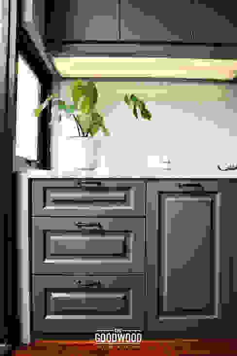 Rumah A+S Dapur Modern Oleh The GoodWood Interior Design Modern
