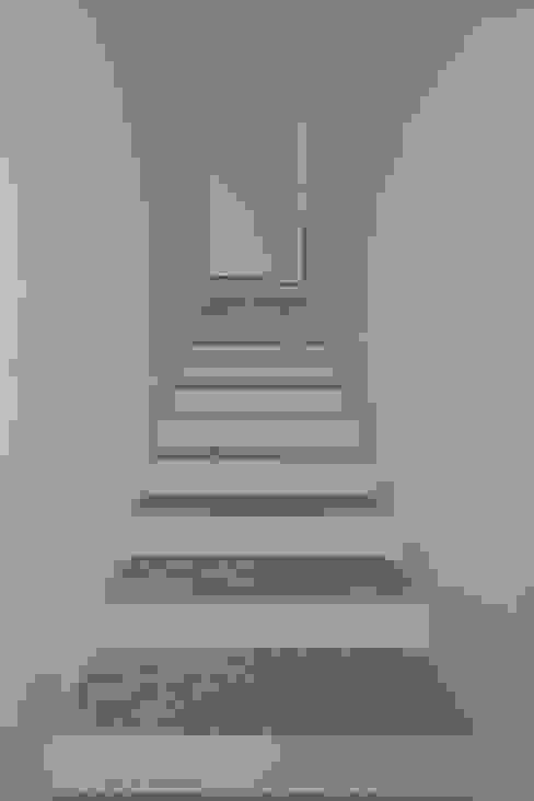Hành lang, sảnh & cầu thang phong cách hiện đại bởi Chantal Forzatti architetto Hiện đại Cục đá
