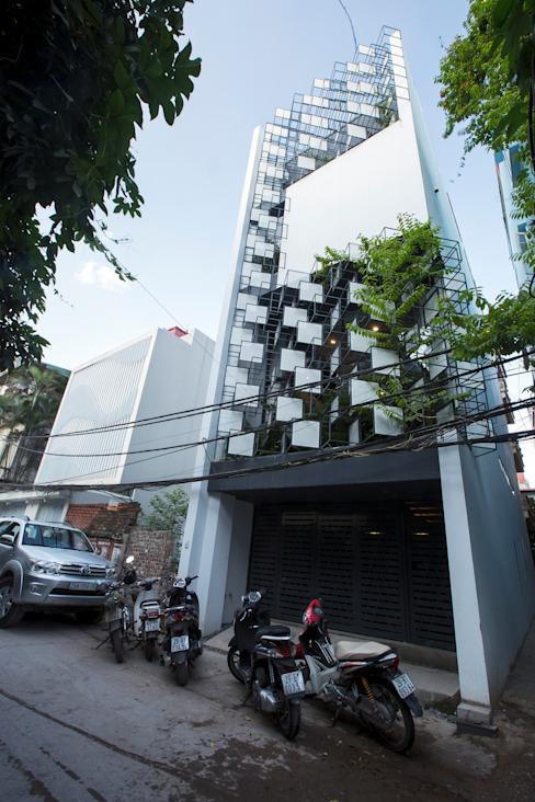 STH - Stairhouse by deline architecture consultancy & construction Modern Iron/Steel