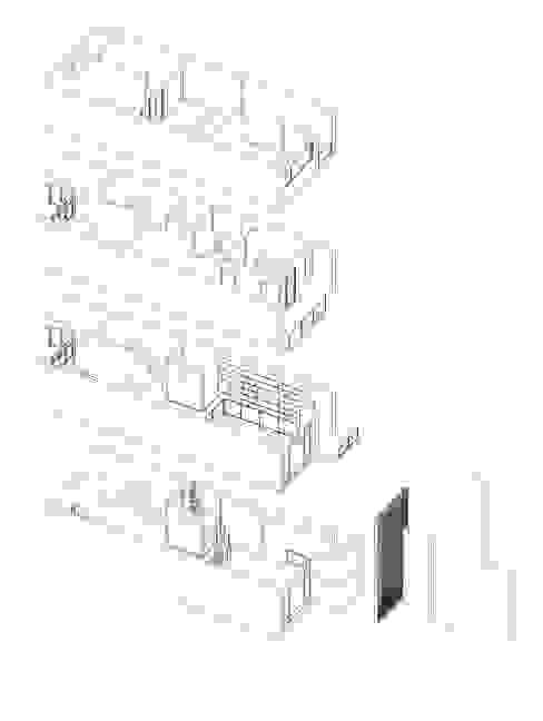 Ruang Keluarga Modern Oleh 一穰設計_EO design studio Modern