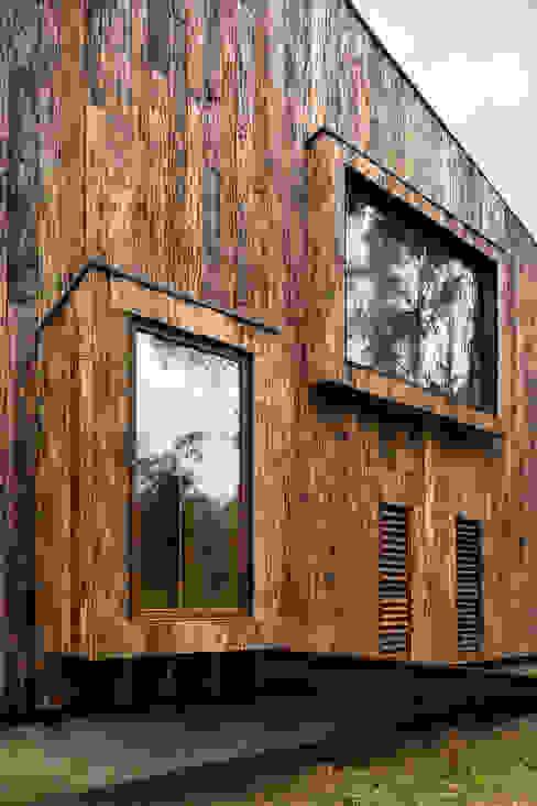 Cabaña Tunquen de Dx Arquitectos Rústico