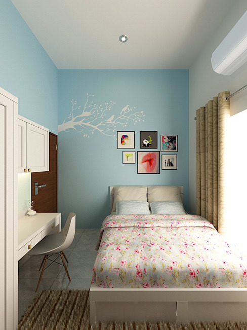 Kamar Anak Akilla Concept BedroomAccessories & decoration Solid Wood Blue