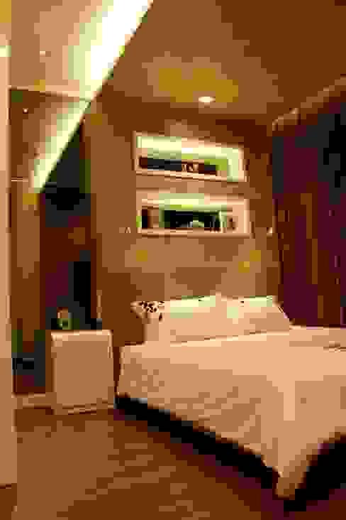 Bedroom by Kottagaris interior design consultant, Minimalist