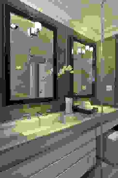 次衛浴 現代浴室設計點子、靈感&圖片 根據 原形空間設計 現代風