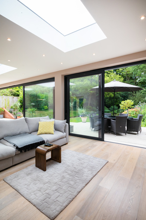 Extension, Wimbledon SW19 Modern living room by TOTUS Modern