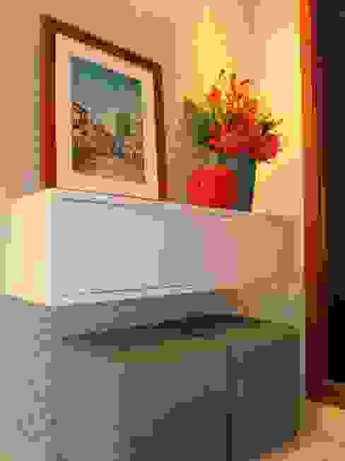 Estúdio_2M Eclectic style living room MDF Orange