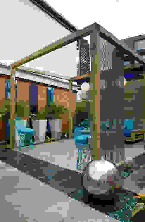Small modern garden design Modern Garden by Earth Designs Modern