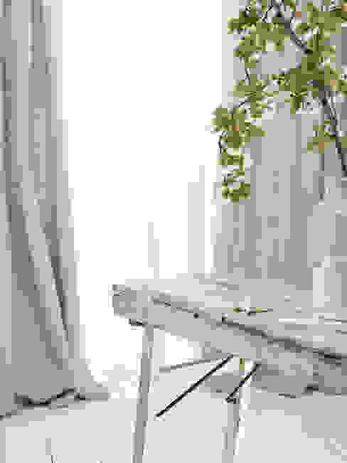 Wohnwiese Jette Schlund Moderne kleedkamers Massief hout Transparant