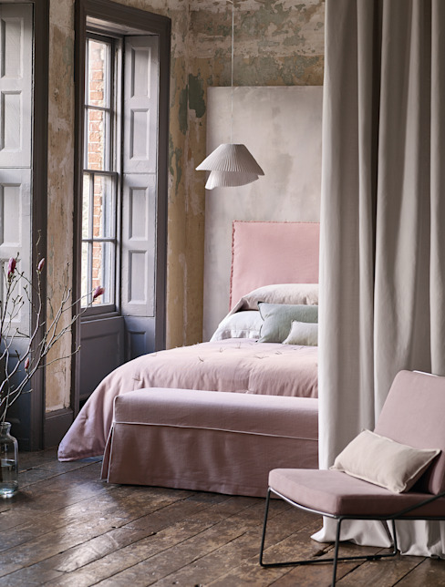 country  oleh Wohnwiese Jette Schlund, Country Flax/Linen Pink