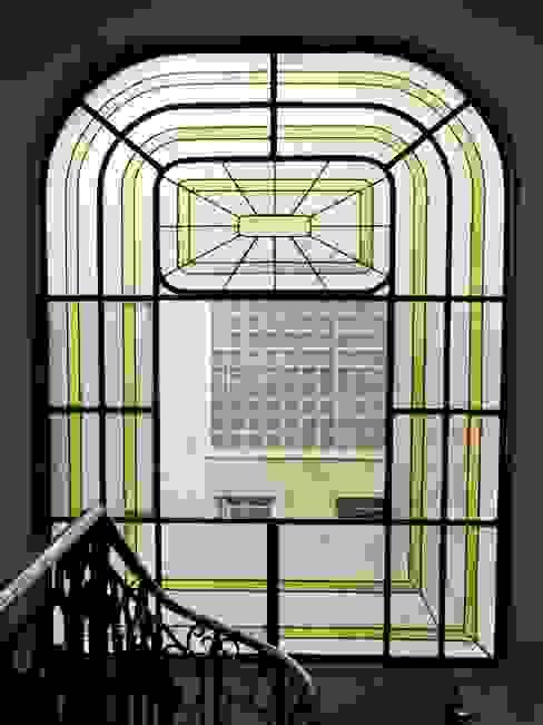 Francisco Vicuña Balaresque 隨意取材風玄關、階梯與走廊
