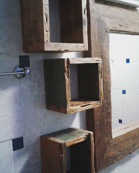 de estilo  por Casa Verde Móveis Sustentáveis, Rústico Madera Acabado en madera